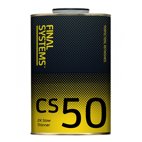 1L, 2K Slow Thinner,Final Systems Cs 50