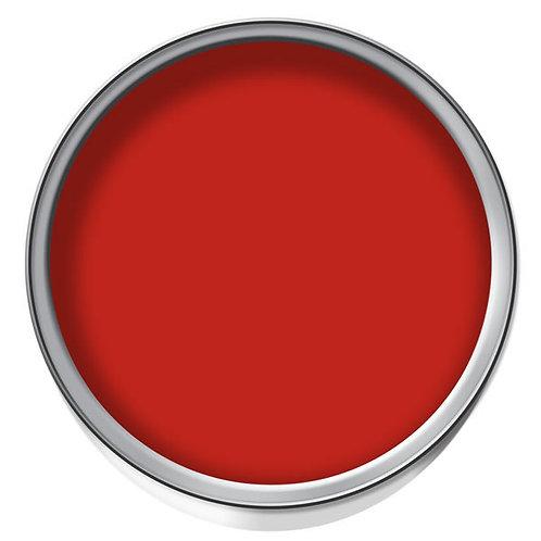 Red Solvent Base Paint 1L