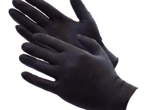 LARGE,  Heavy Duty Nitrile Gloves (Box 100)
