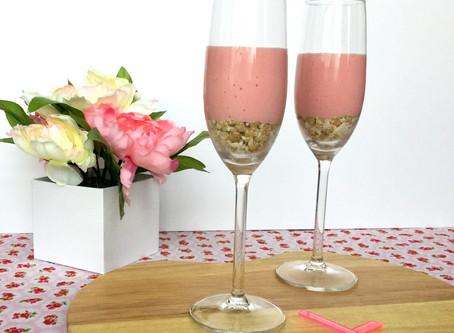 Mix it up: Strawberry Cheesecake