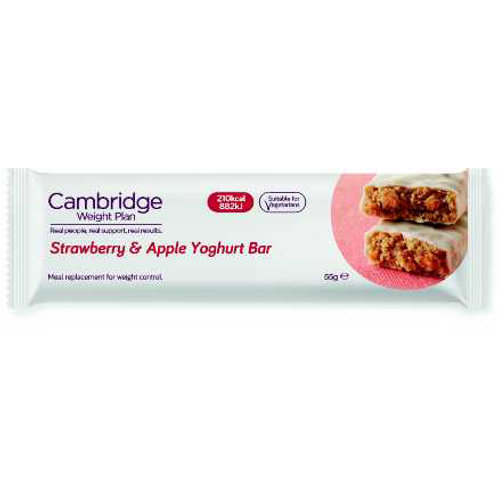 Box of 21 Strawberry and Apple Yoghurt Bar