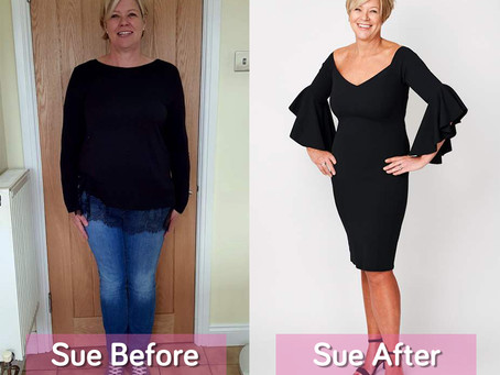 How to lose weight well: SUE BATCH