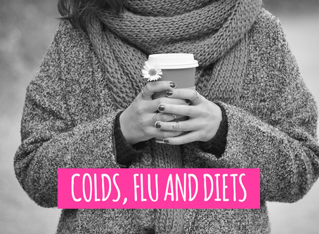 Colds, flu and diets