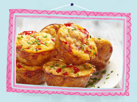Egg and Bacon Breakfast Muffin