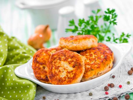 Chilli Pork Burgers with Stir-fried Cabbage