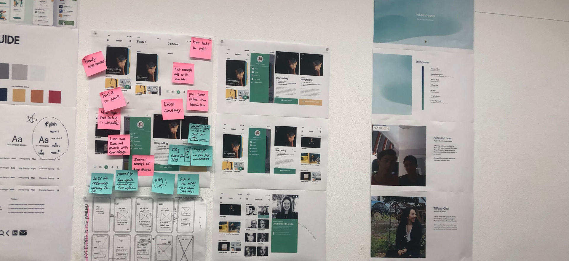 Wireframes and App Design