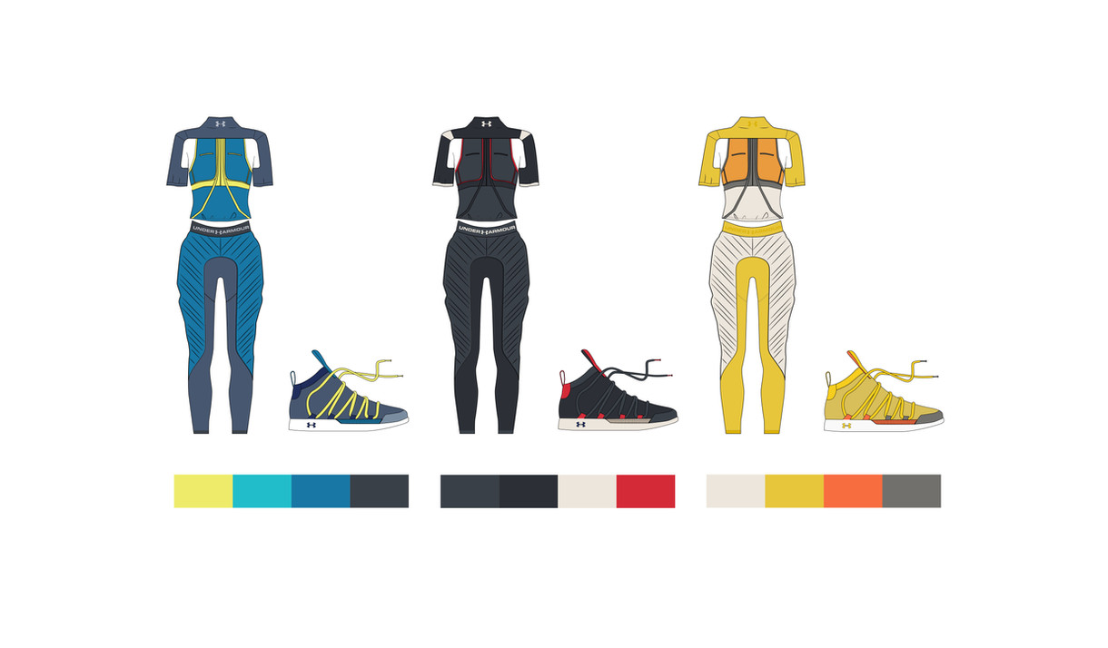 Colorways for Double Dutch Uniform