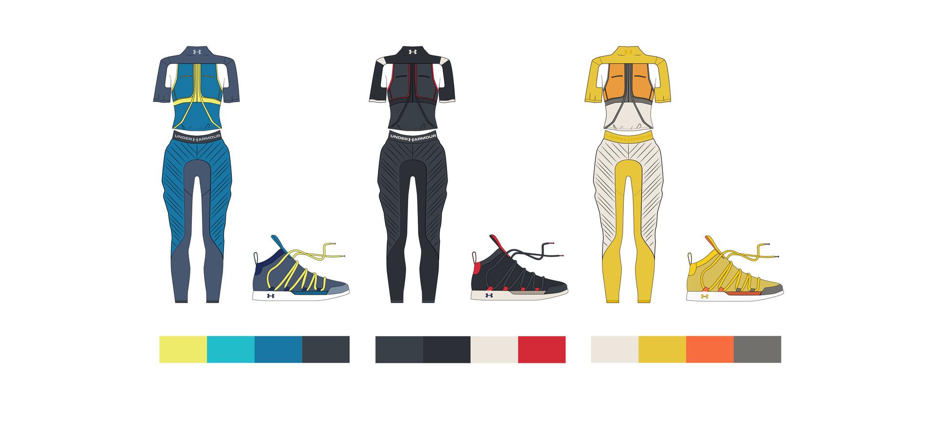 Colorways for Double Dutch Uniform