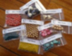 Vintage Bead Box Sample Theme Beads