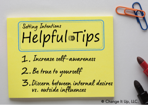 Nina Antinora's Setting Intentions Top Tips