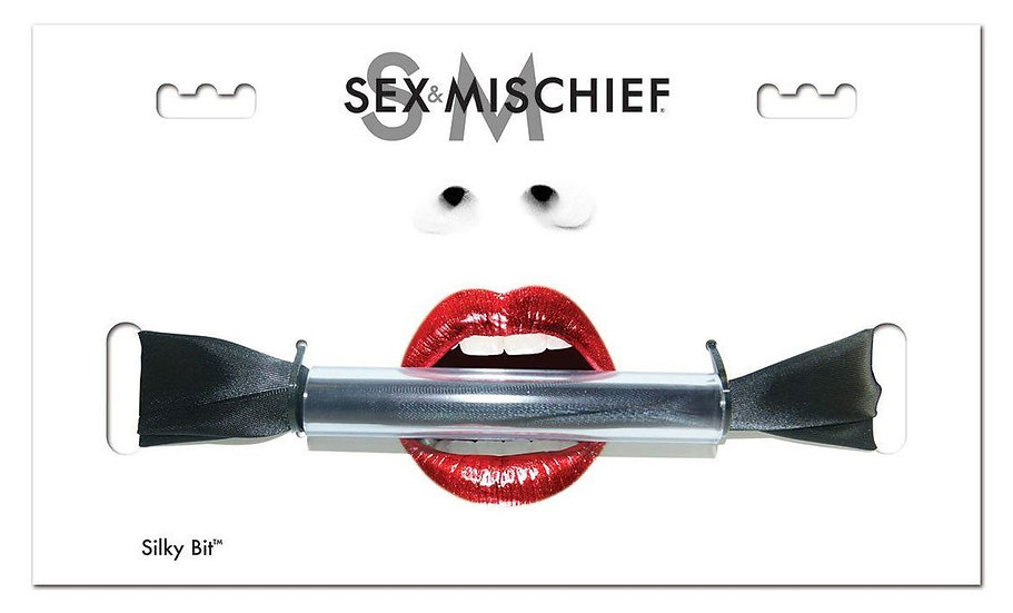 Sex & Mischief Silky Bit Gag