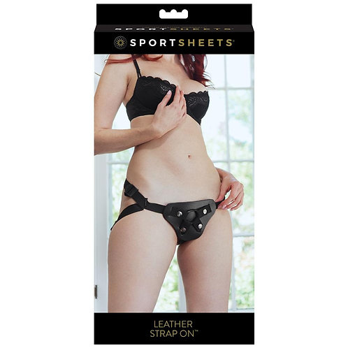 Sportsheets Leather Strap On
