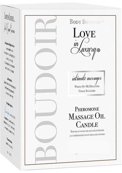 Body Boudoir Massage Candle