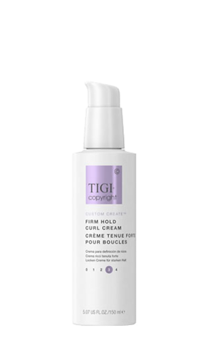 Firm hold curl cream