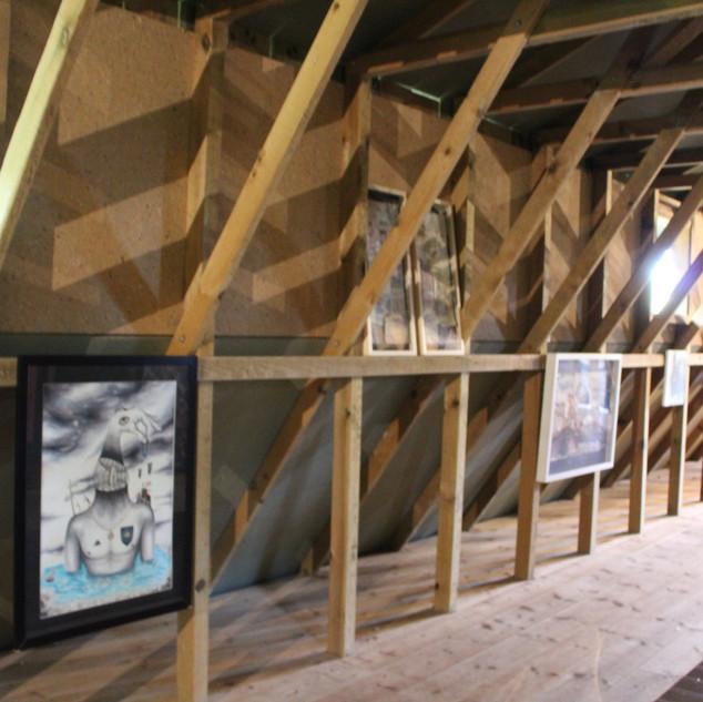 Gurs. II Exposición Artística Barraca de