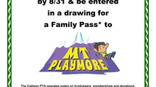 Join PTA and Win Passes to Mt. Playmore