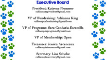 Callison PTA Executive Board and Committee Chairs