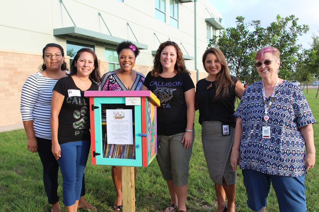 Little Free Libraries at Callison