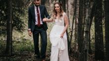 Woodland Wedding | Athabasca Wedding Photographer