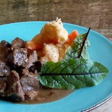 Stoofvlees met puree