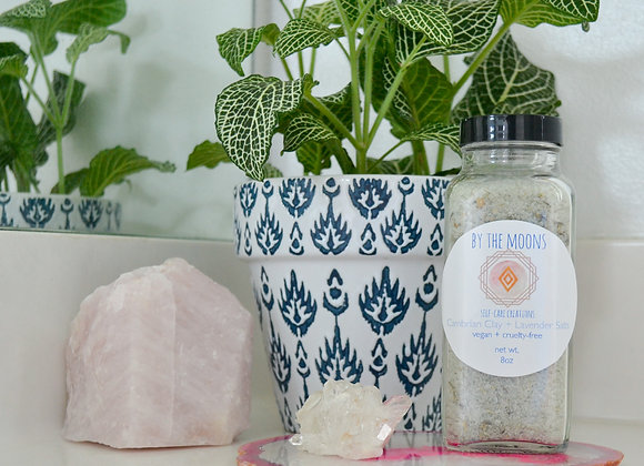 Cambrian Clay + Lavender Herbal Salts