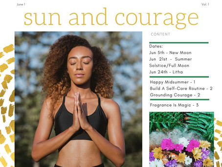 By the Moons June Self-Care Newsletter