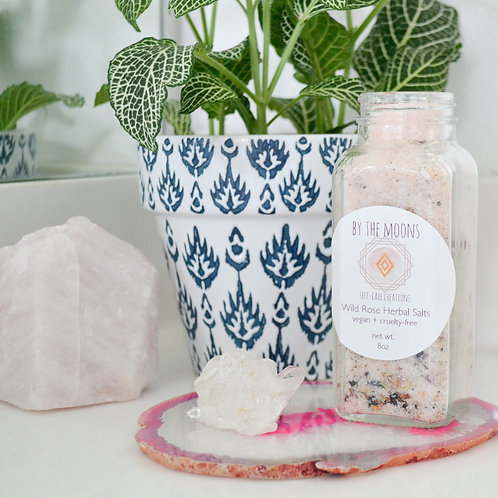 Wild Rose Herbal Bath Salt