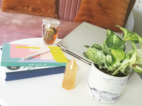 Five Productive Things I'm Doing While Social Distancing