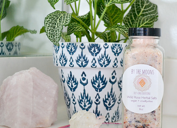 Wild Rose Herbal Bath Salt