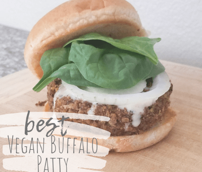 Easy to Make – Best Vegan Buffalo Patty