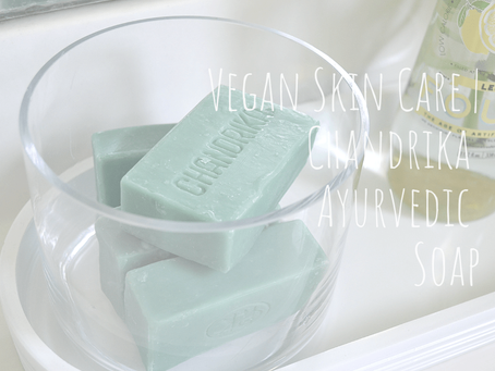 Vegan Skin Care for Clearer Skin: Chandrika Ayurvedic Soap