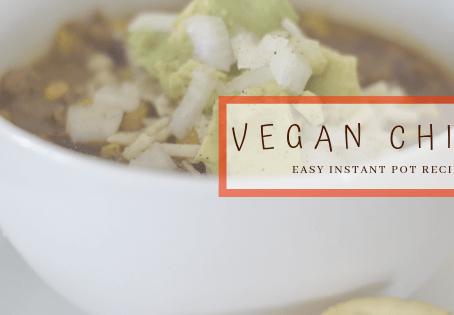 Easy Instant Pot Vegan Chili Recipe