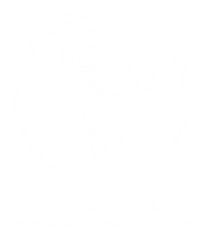 Oxalis logo with name (white with no bac