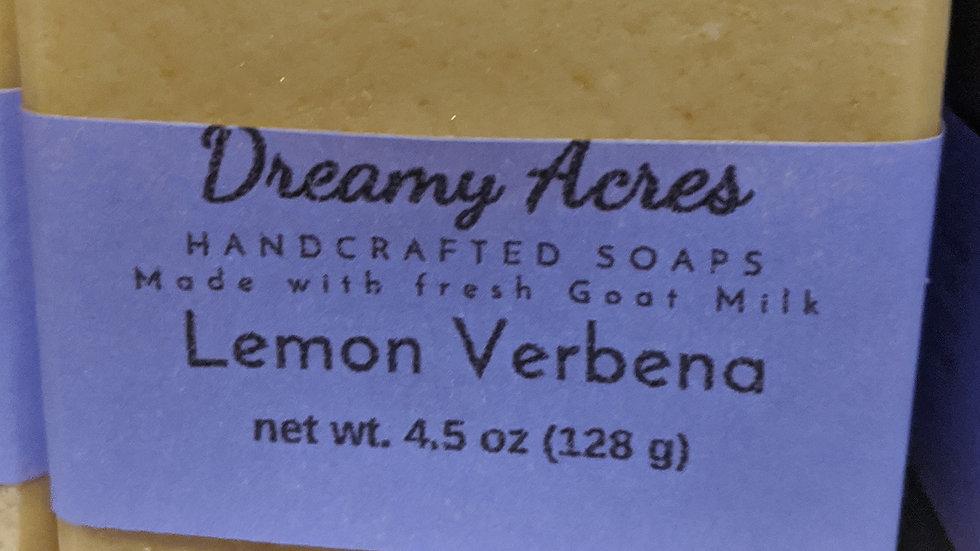 Lemon Verbena Scented Goat Milk Soap