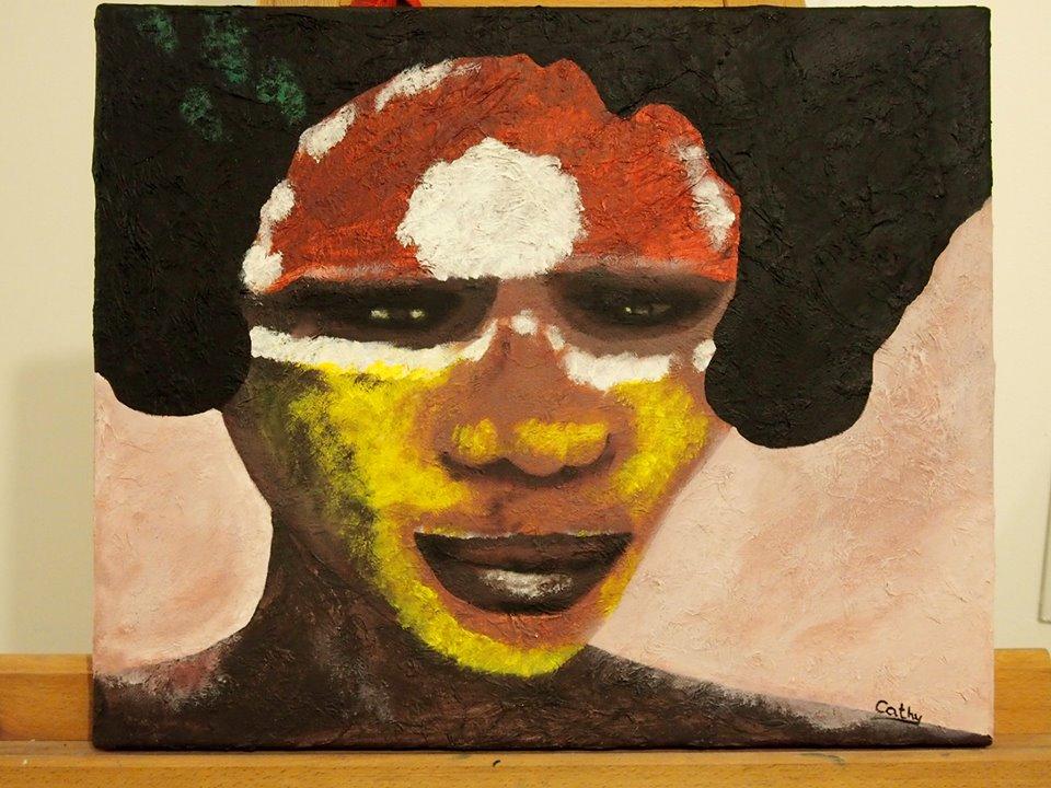 Aborigène par Cathy S.
