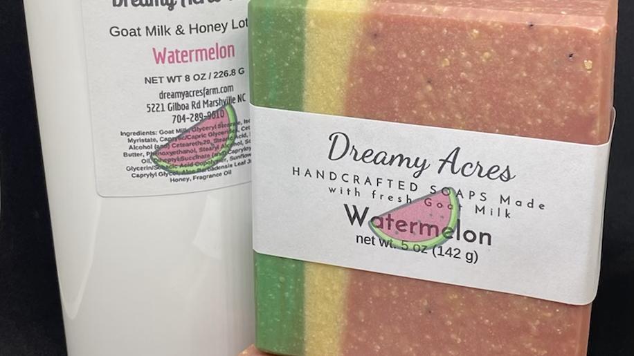 Watermelon Goat Milk Soap