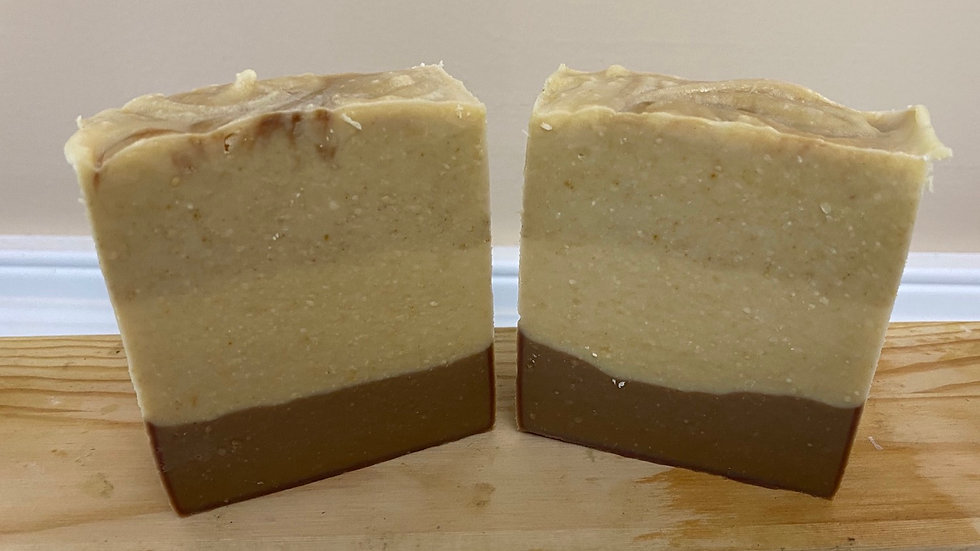 Red Ginger and Saffron Scented Goat Milk Soap