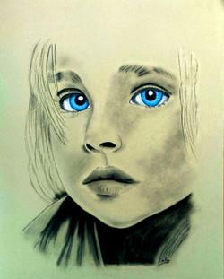 Cathy S portrait enfant