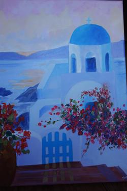 Eglise Grecque par Murielle G.