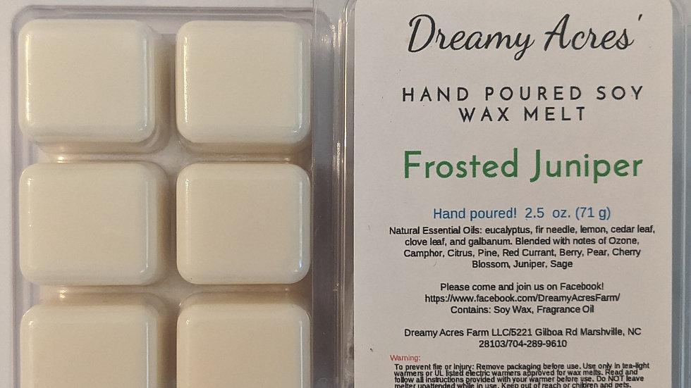 Frosted Juniper Wax Melt