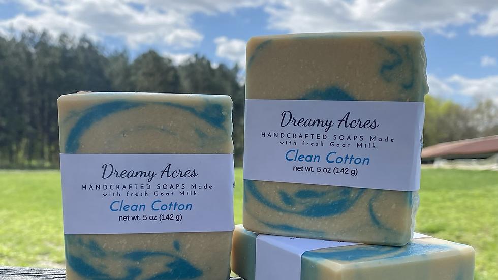 Clean Cotton Goat Milk Soap