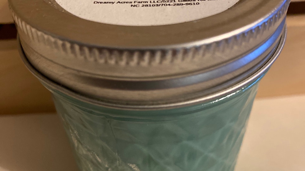 6 oz Lemon Grass scented soy candle