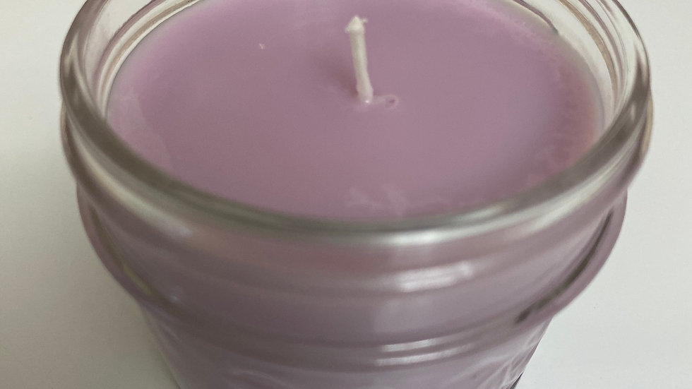 3 oz Lavender scented soy candle