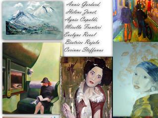 Exposition de élèves de l'ARTelier Boesner