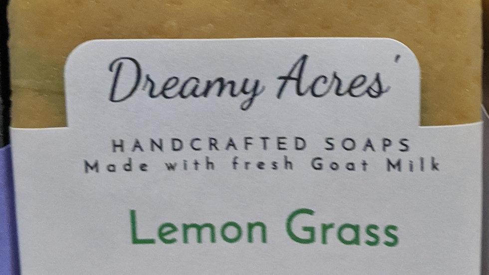 Lemon Grass Scented Goat Milk Soap