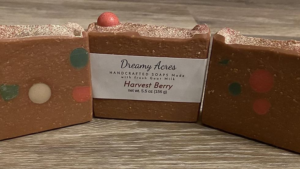 Harvest Berry Goat Milk Soap