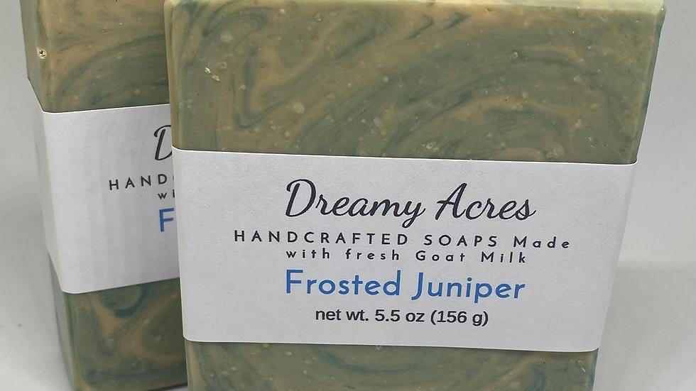 Frosted Juniper Goat Milk Soap