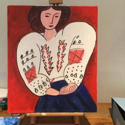 La blouse de Matisse
