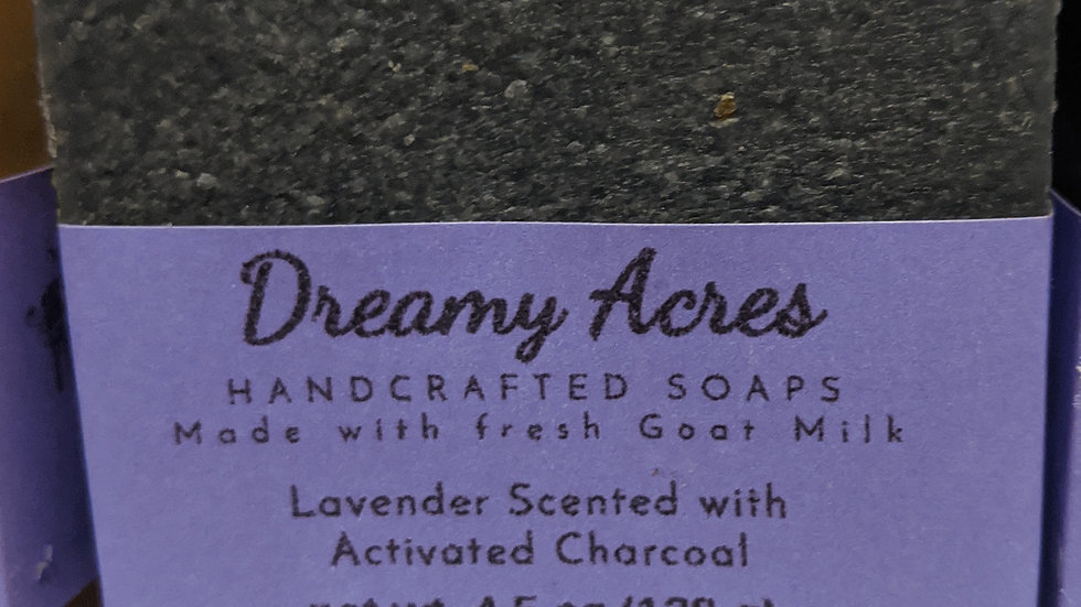 Unscented with Activated Charcoal Soap