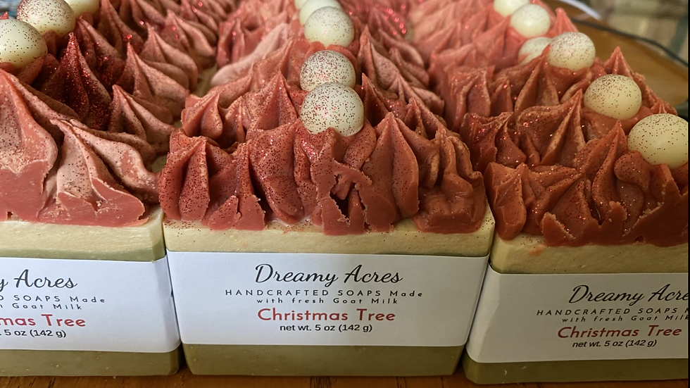 Christmas Tree Scented Goat Milk Soap